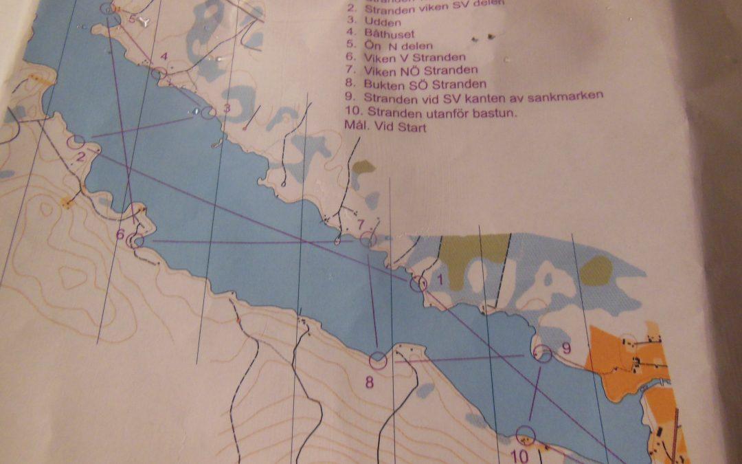 Skridskoorienteringen i Röstabo