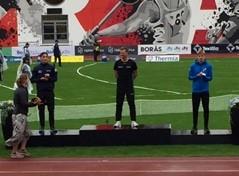 SM brons till Alexander Nyström!